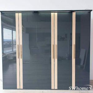 Шкаф Embawood Капри 5-дверный Антрацит