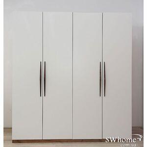 Шкаф Embawood Прайм 4-дверный Белый