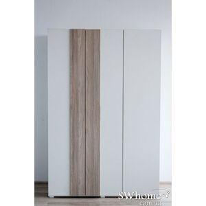 Шкаф Embawood Грей 3-дверный Белый