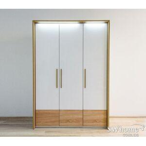 Шкаф Embawood Верона 3-дверный Белый