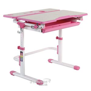 Парта-трансформер Lavoro L Pink