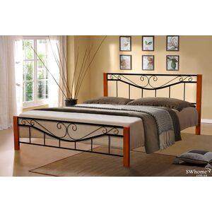 Кровать Микс-мебель Миллениум Вуд Черная