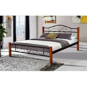 Кровать Микс-мебель Релакс Вуд Черная