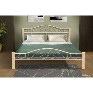 Кровать Микс-мебель Респект Вуд Бежевая