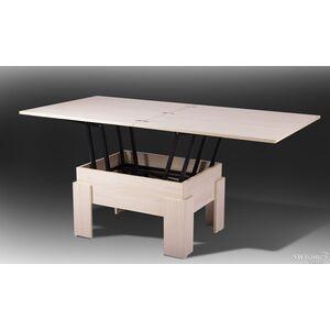 Стол-трансформер Микс-мебель Дельта Молочный