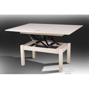 Стол-трансформер Микс-мебель Флай Молочный