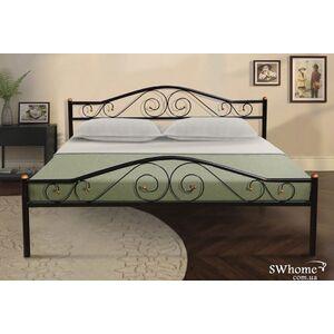 Кровать Микс-мебель Респект Черная
