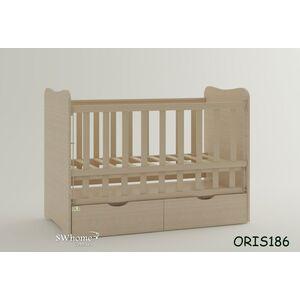Детская кроватка Oris Fiona Дуб Молочный