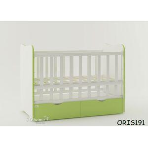 Детская кроватка Oris Fiona Бело-зеленый