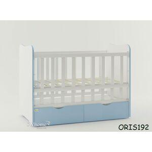 Детская кроватка Oris Fiona Бело-голубой