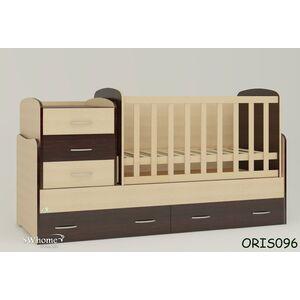 Детская кроватка-трансформер Oris Afina Комбинированная
