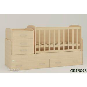 Детская кроватка-трансформер Oris Afina Сосна лоредо светлый