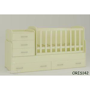 Детская кроватка-трансформер Oris Afina Ваниль