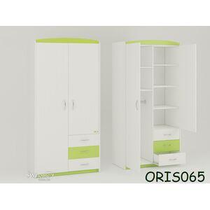 Детский шкаф Modern Maya Бело-зеленый