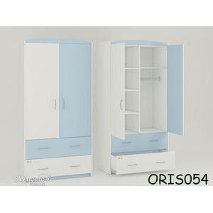 Детский шкаф Classik Maya Бело-голубой