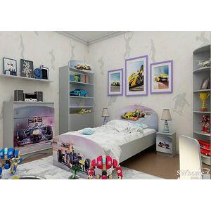 Детская комната Вальтер Formula 1 Серый