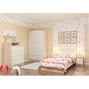 Детская комната Вальтер Мишка Венге светлый - ваниль