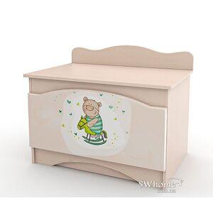 Ящик для игрушек Вальтер Зайки Венге светлый
