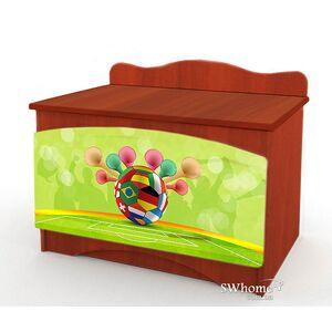 Ящик для игрушек Вальтер Футбол №2 Яблоня локарно