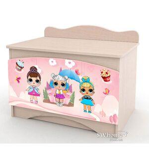 Ящик для игрушек Вальтер Лола Венге светлый