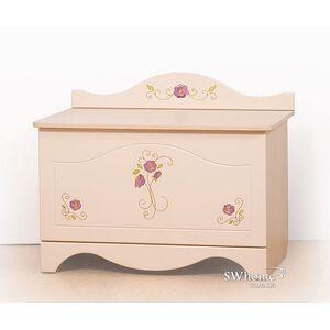Ящик для игрушек Вальтер Provence Ваниль глянец