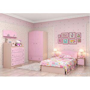 Детская комната Вальтер Kiddy Венге светлый - розовый