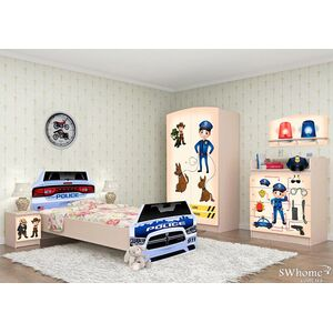 Детская комната Вальтер Полиция №1 Венге светлый