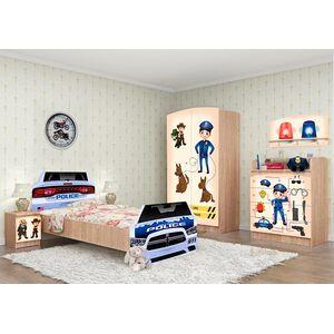 Детская комната Вальтер Полиция №2 Дуб сонома