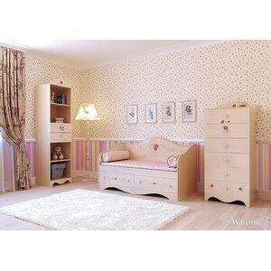 Детская комната Вальтер Provence Ваниль глянец