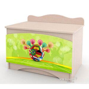 Ящик для игрушек Вальтер Футбол №1 Венге светлый