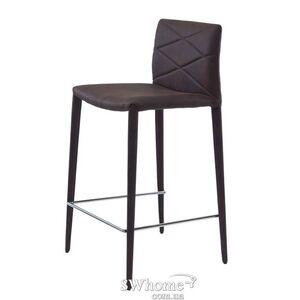 Стул полубарный Concepto Volcker Темно-коричневый