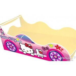 Кровать машина серии Драйв Китти Розовая