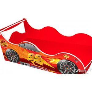Кровать машина серии Драйв Тачки Красный