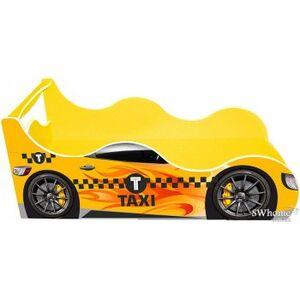 Кровать машина серии Драйв Такси Желтая