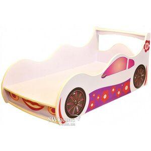 Кровать машина серии Форсаж Лили Белая