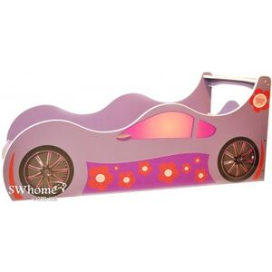 Кровать машина серии Форсаж Лили Розовая