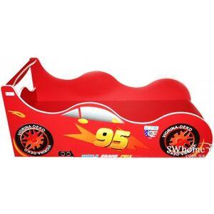Кровать машина серии Форсаж Драйв-95 Красная