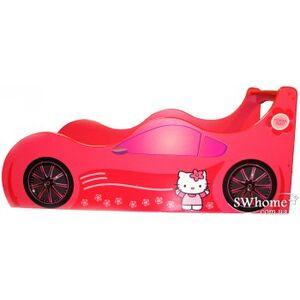 Кровать машина серии Форсаж Kitti Красная