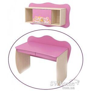 Стол с ящиками Бриз Cinderellа Сn-08-1 Розовый