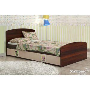 Кровать Вальтер 3 в 1 Венге светлый - орех темный
