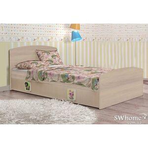Кровать Вальтер 3 в 1 Венге светлый