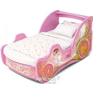 Кровать карета Бриз Cinderellа Cn-11-70 Розовая