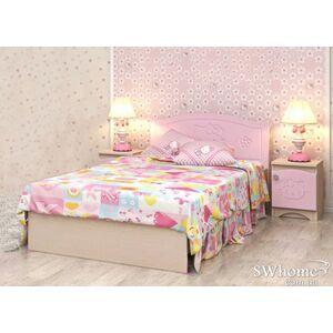 Кровать Вальтер Kiddy Венге светлый - розовый
