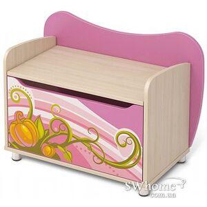 Комод для игрушек Бриз Cinderellа Сn-22 Розовый