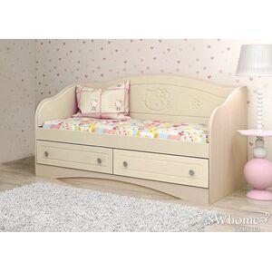 Детский диван Вальтер Kiddy с 2 ящиками Венге светлый-ваниль