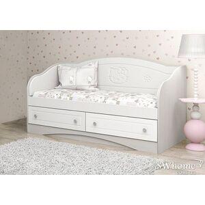 Детский диван Вальтер Kiddy с 2 ящиками Белый