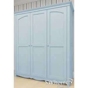 Шкаф 3х створчатый Канон Beautiful Dreams Голубой