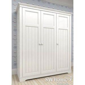 Шкаф 3х створчатый Канон NEW DREAMS Белый