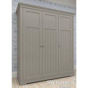 Шкаф 3х створчатый Канон NEW DREAMS Серый