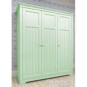 Шкаф 3х створчатый Канон NEW DREAMS Зеленый